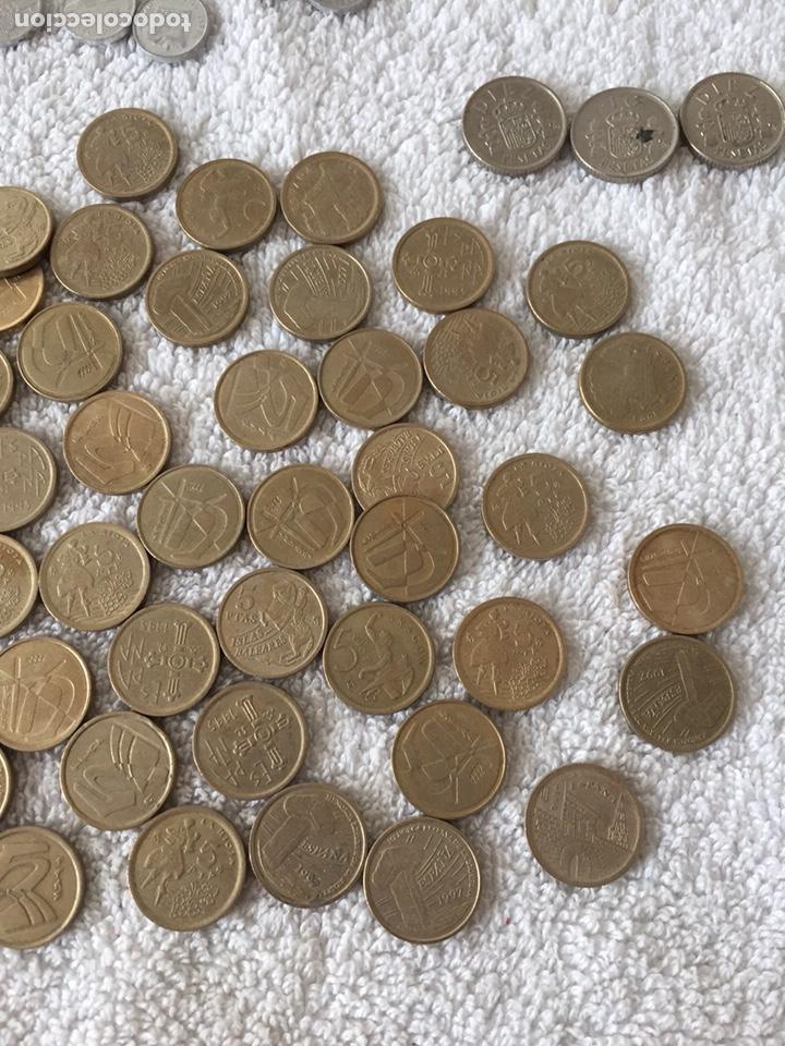 Monedas Juan Carlos I: Lote de monedas de pesetas variadas - Foto 4 - 166092660