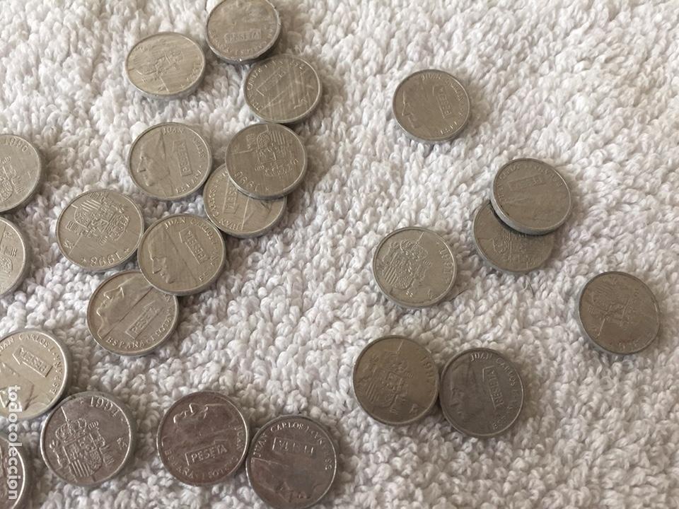 Monedas Juan Carlos I: Lote de monedas de pesetas variadas - Foto 6 - 166092660