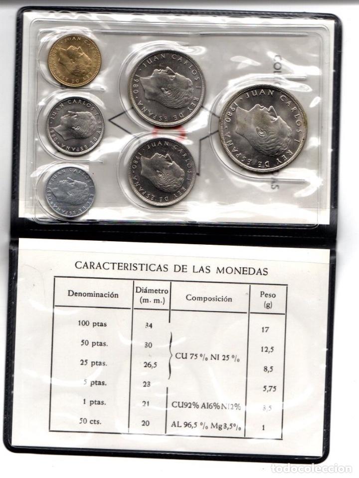 Monedas Juan Carlos I: MUNDIAL 82 ESPAÑA. SERIE NUMISMATICA. 6 MONEDAS ESTRELLA 80. EN CARPETILLA - Foto 3 - 166522049