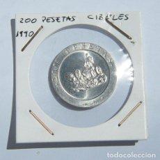 Monedas Juan Carlos I: ESPAÑA 1990. 200 PESETAS JUAN CARLOS I. LA CIBELES. Lote 85906092