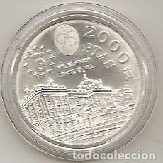 Monedas Juan Carlos I: ESPAÑA 1995. MONEDA DE 2000 PESETAS DE PLATA.PRESIDENCIA UE. ENCAPSULADA. Lote 168202796