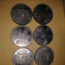 Monedas Juan Carlos I: MONEDAS 100 PESETAS JUAN CARLOS 1, 4 DEL MUNDIAL 1982 *1980. Lote 168523421