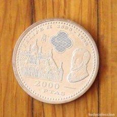 Monedas Juan Carlos I: MONEDA DE PLATA 2000 PESETAS. 1998. FELIPE II 1598-1998. REY JUAN CARLOS. BUEN ESTADO.. Lote 168947356