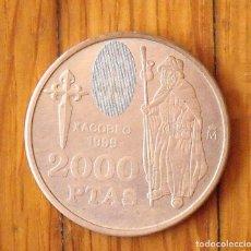 Monedas Juan Carlos I: MONEDA DE PLATA 2000 PESETAS. 1999. XACOBEO 1999. REY JUAN CARLOS.. Lote 168947516