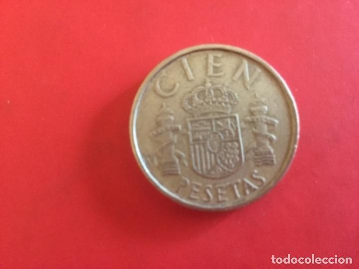 Monedas Juan Carlos I: Moneda de 100 pesetas Juan Carlos I 1983 - Foto 2 - 168992260