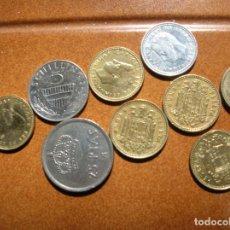 Monedas Juan Carlos I: LOTE DE MONEDAS DEL REY UNA DE AUSTRIA Y UNA DE FRANCO UNA PESETA. Lote 169198444