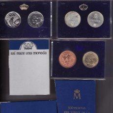 Monedas Juan Carlos I: ESPAÑA ESTUCHE 500 PESETAS 1987 PROOF XXV ANIVERSARIO BODA REYES DE ESPAÑA. Lote 169437277