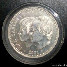 Monedas Juan Carlos I: AÑO 2001 ESPAÑA 2000 PESETAS -CAPSULA-ULTIMA EMISIÓN DE LA PESETA- CONMEMORATIVA PLATA 925-.. Lote 204474646