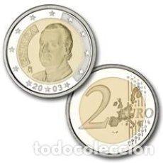 Moedas Juan Carlos I: ESPAÑA 2 EUROS AÑO 2003 JUAN CARLOS I -SIN CIRCULAR-. Lote 280754443