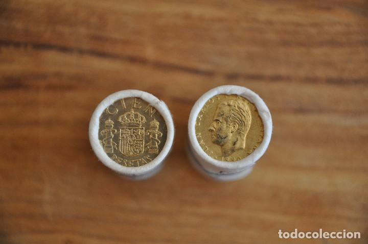 Monedas Juan Carlos I: 1000 monedas de 100 pesetas Juan Carlos I - Foto 4 - 171040478