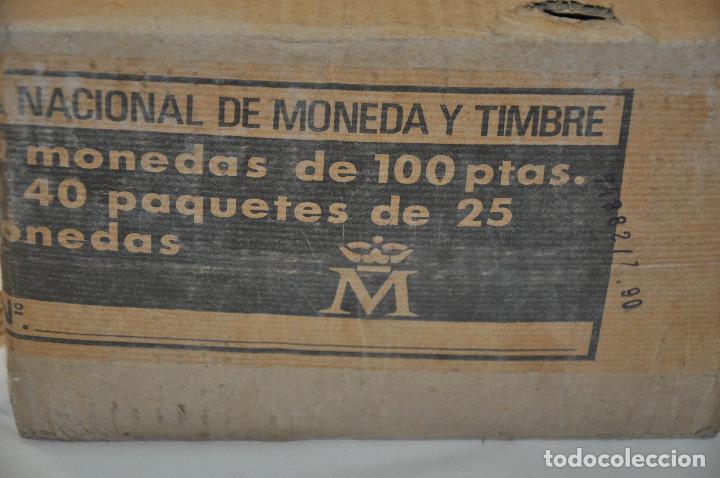 Monedas Juan Carlos I: 1000 monedas de 100 pesetas Juan Carlos I - Foto 5 - 171040478