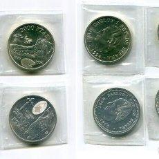 Monedas Juan Carlos I: 2000 PESETAS 1994-96-98-99, S/C AUNQUE HAN ESTADO GRAPADAS, ESTÁN EN SUS FUNDAS ORIGINALES. Lote 171208610
