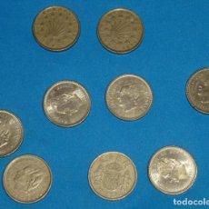 Monedas Juan Carlos I: LOTE DE 9 MONEDAS DE 100 PESETAS DE JUAN CARLOS I.. Lote 171373525