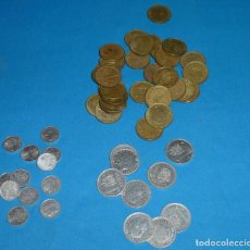 Monedas Juan Carlos I: LOTE DE 52 MONEDAS DE 1 PESETAS DE JUAN CARLOS I.. Lote 171373577