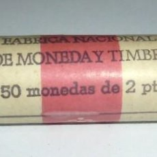 Monedas Juan Carlos I: CARTUCHO DE 50 MONEDAS DE2 PESETAS. JUAN CARLOS I. 1982. SIN ABRIR. Lote 171408844