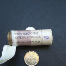 Monedas Juan Carlos I: MONEDA DE 100 PESETAS DE JUAN CARLOS I.DEL AÑO 1992 S/C.FLOR DE CUÑO!. Lote 171595977