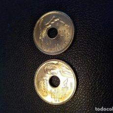 Monedas Juan Carlos I: MONEDA DE 25 VEINTICINCO PESETAS DEL AÑO 1990 REY SIN CIRCULAR. DE BOLSA.. Lote 171911887
