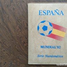 Monedas Juan Carlos I: CARTERA PESETAS MUNDIAL 82 1980 ESTRELLA 81. Lote 172401793