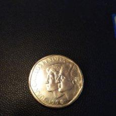 Monedas Juan Carlos I: MONEDA DE 500 QUINIENTAS PESETA DEL AÑO 1990 SIN CIRCULAR. DE CARTUCHO.. Lote 195223285
