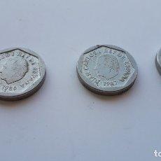 Monedas Juan Carlos I: 3 MONEDAS DE 200 PESETAS DE JUAN CARLOS I . Lote 175259110