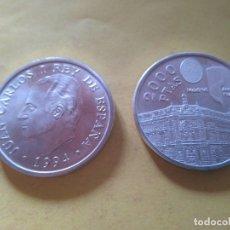 Monedas Juan Carlos I: MONEDA PLATA 2000 PESETAS AÑO 1994 BANCO DE ESPAÑA. ASAMBLEA FMI - BM. MADRID. SC. Lote 175391364