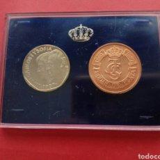Monedas Juan Carlos I: 500 PESETAS 1987 PROOF XXV ANIVERSARIO BODA REYES DE ESPAÑA. Lote 175552445