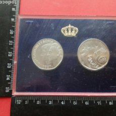 Monedas Juan Carlos I: 500 PESETAS 1987 PROOF XXV ANIVERSARIO BODA REYES DE ESPAÑA. Lote 175552603