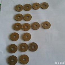 Monedas Juan Carlos I: LOTE DE 25 PESETAS ,,,, 17 MONEDAS. Lote 175584512