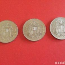 Monedas Juan Carlos I: ESPAÑA 3 MONEDAS DE 100 PESETAS 1975 *76. Lote 176106935