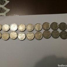 Monedas Juan Carlos I: LOTE MONEDAS 200 PESETAS. Lote 176425543