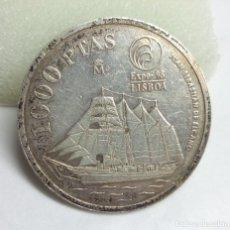 Monedas Juan Carlos I: MONEDA DE PLATA - 1000 PESETAS DE 1998, EXPO DE LISBOA - REY JUAN CARLOS. Lote 177050708