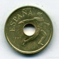 Monedas Juan Carlos I: 25 PESETAS 1990 MADRID. Lote 177143017