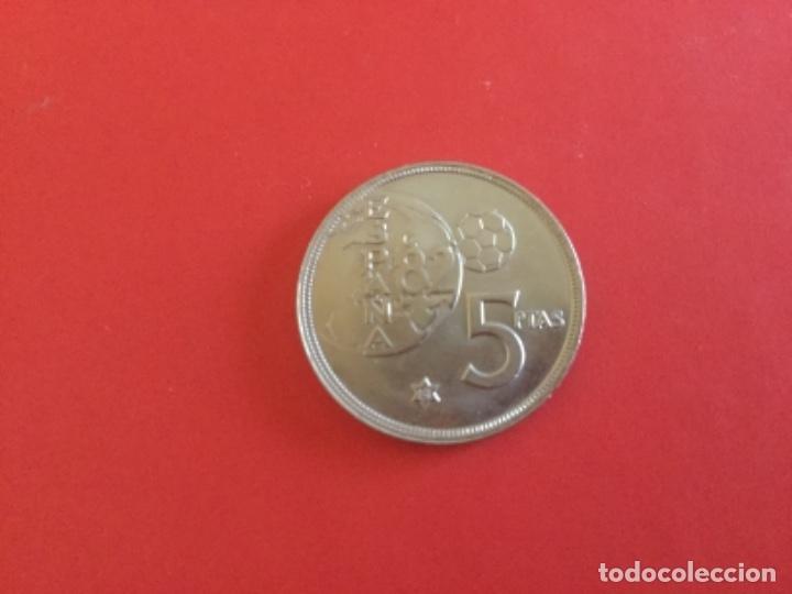 Monedas Juan Carlos I: España 5 Pesetas 1980 *81. Mundial España 82. S/C. + - Foto 2 - 177662520