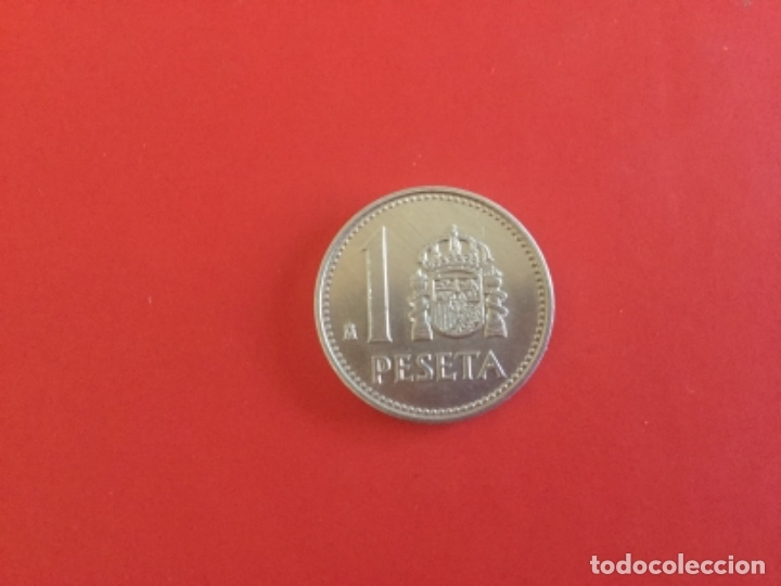 Monedas Juan Carlos I: España 1 Peseta 1983. S/C. + - Foto 2 - 177663218