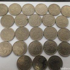Monedas Juan Carlos I: 50 PESETAS 1982. 25 MONEDAS. Lote 178560758