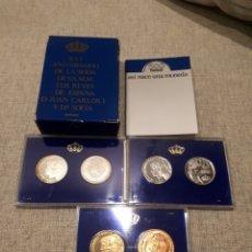 Monedas Juan Carlos I: XXV ANIVERSARIO DE LA BODA D S.S.M.M. LOS REYES DE ESPAÑA D. JUAN CARLOS Y Dª SOFIA-PRUEBAS 500 PTAS. Lote 178666731