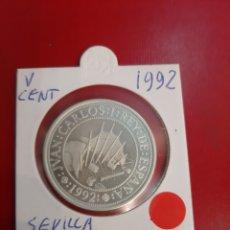 Monedas Juan Carlos I: V CENTENARIO 1992 1000 PESETAS PLATA POR JUAN CARLOS I. Lote 178946648
