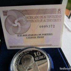 Monedas Juan Carlos I: ESPAÑA . 10 EUROS DE PLATA DEL AÑO 2010 . EN SU ESTUCHE OFICIAL .TOTALMENTE NUEVA. Lote 179186247