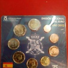 Monedas Juan Carlos I: 2013 SET ESPAÑA EUROS SU MAJESTAD EL REY 75 NÚMERO 10692. Lote 179538341
