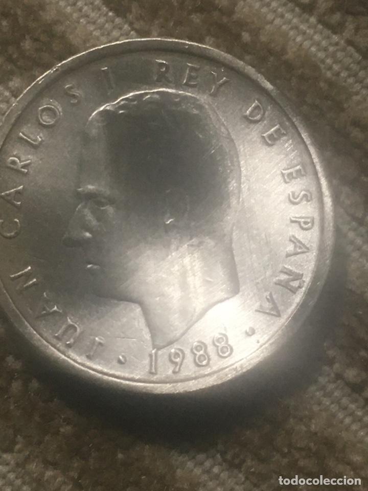 CUATRO MONEDAS DE JUNCARLOS I (Numismática - España Modernas y Contemporáneas - Juan Carlos I)