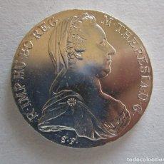 Monedas Juan Carlos I: AUSTRIA . 1 TALER DE MARIA TERESA EN PLATA DE 1780 . TOTALMENTE SIN CIRCULAR . GRAN MODULO. Lote 194760536