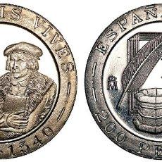 Monedas Juan Carlos I: ESPAÑA: 200 PESETAS 1993 LUIS VIVES S/C. Lote 222707813
