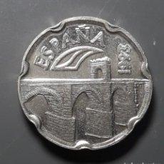 Monedas Juan Carlos I: ERROR-VARIANTE: 50 PESETAS 1993 REMARCADA. Lote 182006180