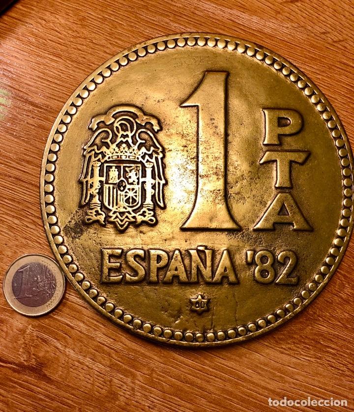 MONEDA BRONCE GRAN TAMAÑO CONMEMORATIVA DE LA PESETA (Numismática - España Modernas y Contemporáneas - Juan Carlos I)