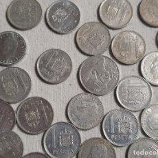 Monedas Juan Carlos I: LOTE MONEDAS 1 PESETA - JUAN CARLOS I - MBC. Lote 182647410