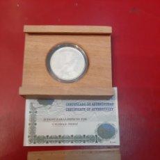 Monedas Juan Carlos I: 1996 ESPAÑA 1.000 PESETAS PLATA JUEGOS PARALÍMPICOS CERTIFICADO F.N.M.T PERFECTO. Lote 182663425
