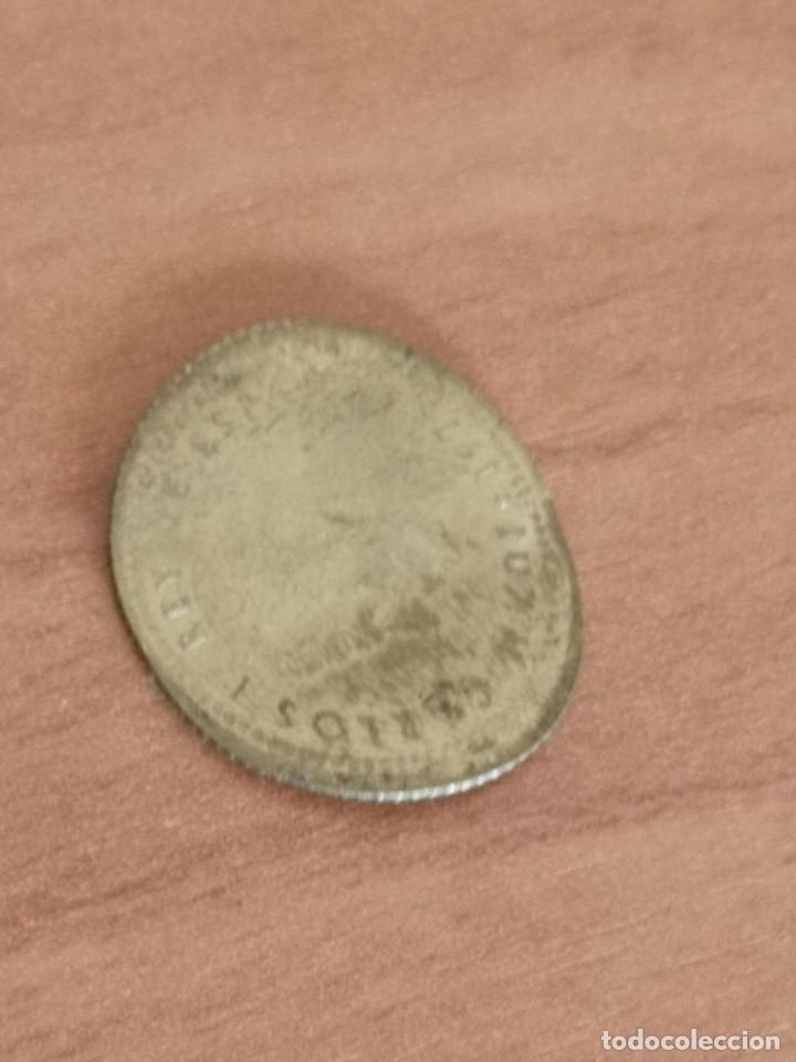 Monedas Juan Carlos I: Moneda 1 peseta 1975 aplastada - Foto 3 - 183098348