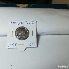Monedas Juan Carlos I: MONEDA 200 PESETAS JUAN CARLOS I 1988. Lote 183265941
