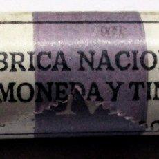 Monedas Juan Carlos I: CARTUCHO OFICIAL DE FABRICA NACIONAL DE MONEDA Y TIMBRE DE 25 MONEDAS DE 100 PTAS DE 1986 LOTE 2131. Lote 183268946