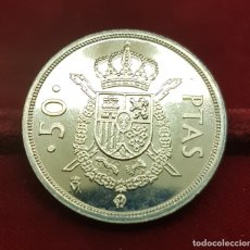 Monedas Juan Carlos I: ESPAÑA SPAIN 50 PESETAS JUAN CARLOS I 1984 KM 825 SC UNC. Lote 183291956